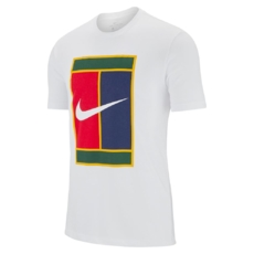 5be95b8b new Nike. Футболка мужская Nike Court Heritage Logo White 2019