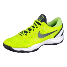 ca4bec17 Кроссовки мужские Nike Zoom Cage 3 Clay Volt Glow/White/Light Carbon
